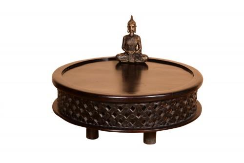 Mogra round coffee table