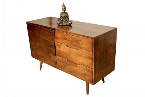 Sonu three drawer one door Cabinet