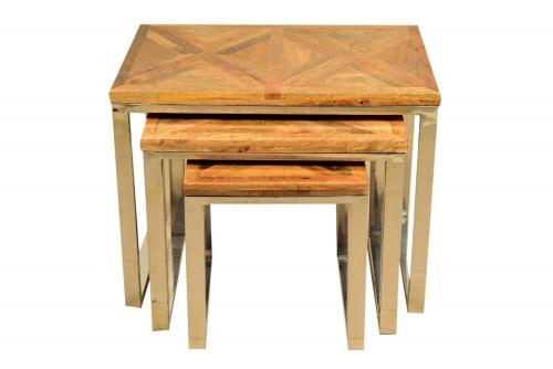 Jamboree stainless less steel leg stool