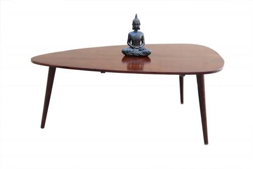 Leaf biggi coffee table with round legs