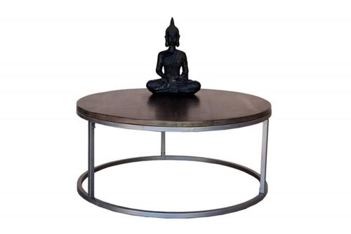 spherical iron coffee table