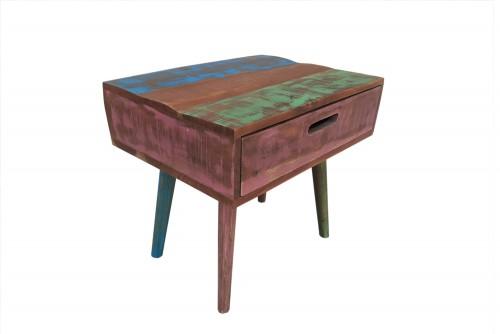 celerio one drawer old finish bed side