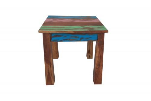 Orbis old finish wooden stool