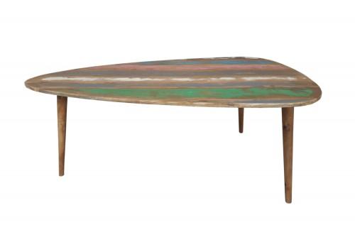 leaf biggi old finish coffee table