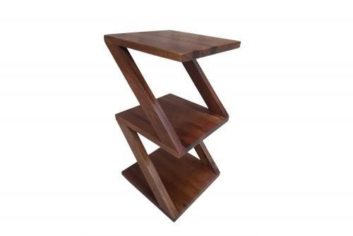 Dimora 3 shelf zigzag side table