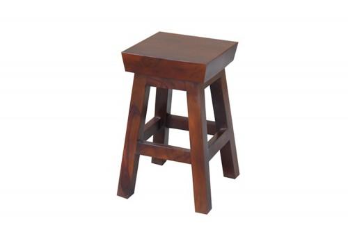 Harrington small solid wood stool
