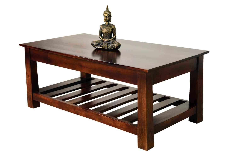 Buy Strip Bottom Shelf Coffee Table Living Room Coffee